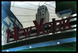 Witraż New York