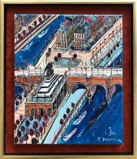 Najstarszy most w Paryżu Pont Neuf