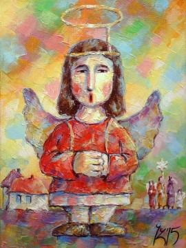 Jasełkowy anioł