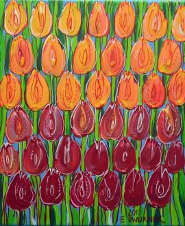 Kwiaty-tulipany 4