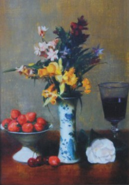 Martwa natura z kwiatami i owocami (kopia)