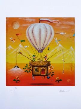 Balonem na koniec świata (ed.25/25/A3)