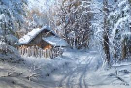 Zima z tajemniczym domkiem