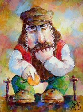 Żyd na szczęście II