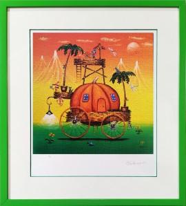Pumpkin house (ed.25-25/A3)