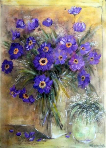 Bukiet z kwiatami
