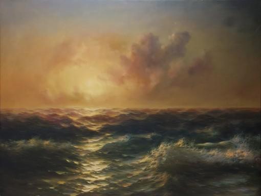 Wieczorne morze