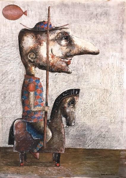 Tematy tabu, baśniowy świat i groteska, czyli rysunki Piotra Kamieniarza