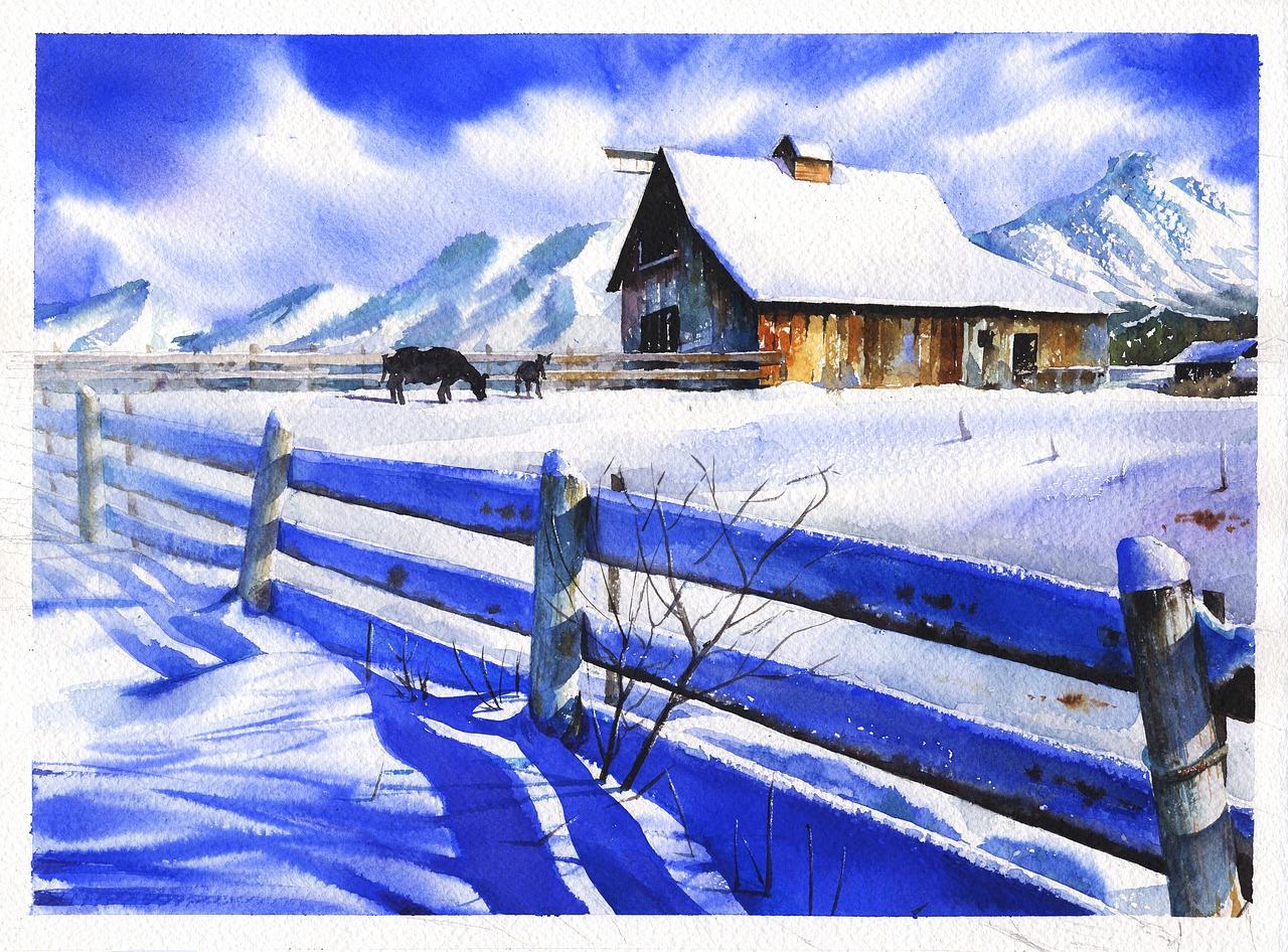 Zima w malarstwie||Świadek historii