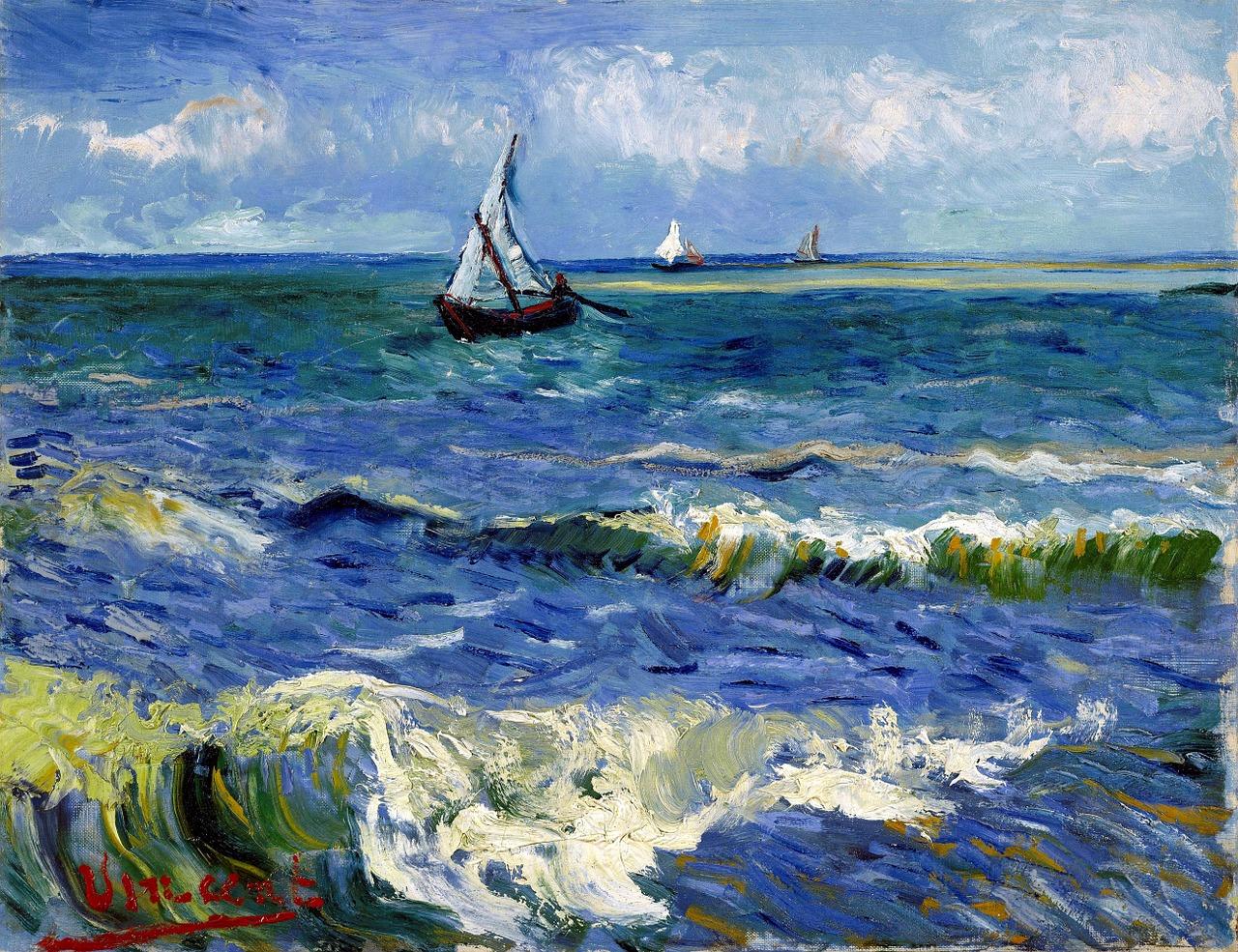 Obrazy marynistyczne    Hołd sztuki dla morza