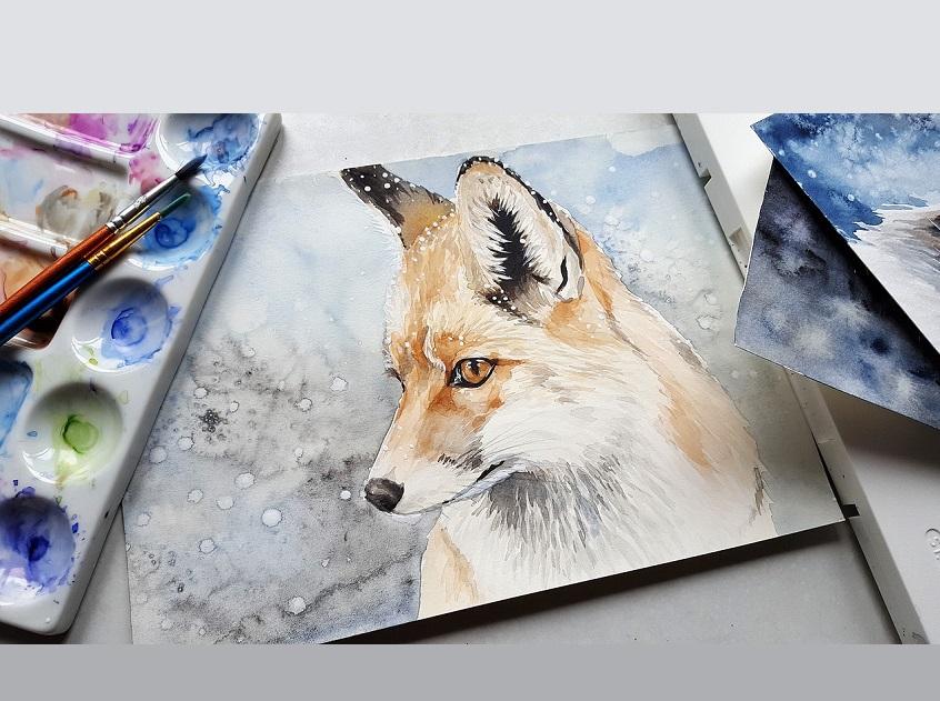Akwarela || Subtelne i ponadczasowe malarstwo