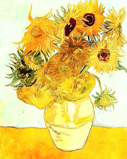 Słoneczniki van Gogha || Symbole radości czy melancholii?