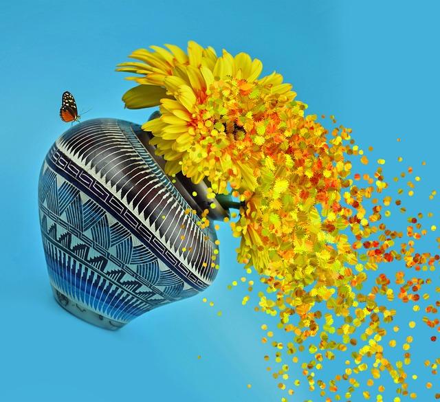 Malarstwo kwiatowe || Powiew wiosny w sztuce